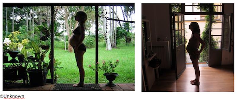 gravidanza fotografia percorso re-encatment