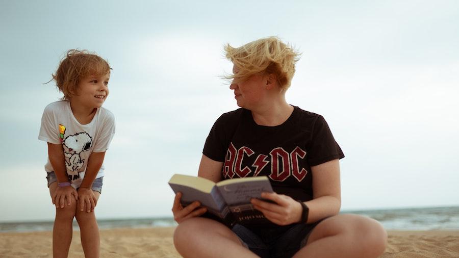 lettura libri distacco paura abbandono mamma bambino